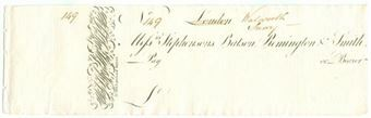 Picture of Messrs Stephensons, Batson, Remington & Smith, 69 Lombard Street, ca1808