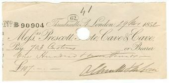 Picture of Messrs Prescott, Grote, Cave & Cave, 62 Threadneedle St., 185(2)