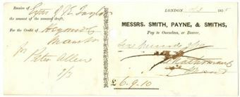 Picture of Messrs Smith, Payne & Smiths, 185(5)