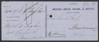 Picture of Messrs Smith, Payne & Smiths, London, 18(61)