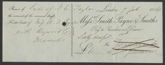 Picture of Messrs Smith, Payne & Smiths, London, 185(3)