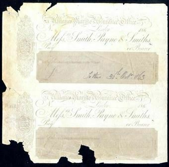 Picture of Smith, Payne & Smiths, London, Perkins & Bacon PROOF, 186-