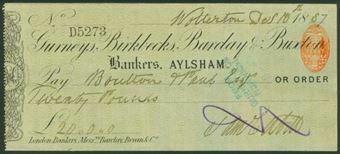 Picture of Gurneys, Birkbecks, Barclay & Buxton, Aylsham, 18(87), Type 4c