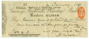 Picture of Aylsham, 18(97), Gurneys, Birkbecks, Barclay & Buxton OTG 7.1