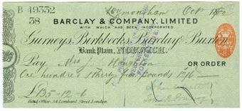 Picture of Bank Plain, Norwich, 18(900), Gurneys, Birkbecks, Barclay & Buxton OTG 7.13
