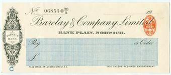 Picture of Bank Plain, Norwich, Gurney's Bank, 19(09), OTG 64.6a