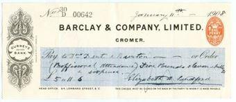 Picture of Cromer, 190(7), Gurneys Bank, OTG 62.3a
