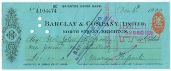 Picture of North Street, Brighton, 19(00), Brighton Union Bank,OTG 41.1