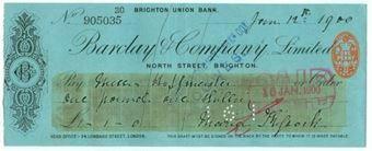 Picture of North Street, Brighton,1(900), Brighton Union Bank, OTG 41.2