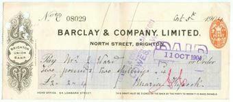 Picture of North Street, Brighton,190(4), Brighton Union Bank, OTG 62.2