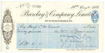 Picture of Wymondham, 19(22), Gurneys Bank, OTG 64.6d