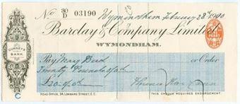 Picture of Wymondham, 190(10), Gurneys Bank, OTG 64.6a