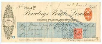 Picture of Bank Plain, Norwich, Gurneys Bank, 19(26) OTG 103.12c
