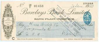 Picture of Bank Plain, Norwich, Gurneys Bank, 19(33) OTG 103.12d
