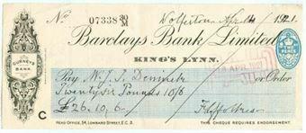 Picture of King's Lynn, Gurneys Bank, 19(31) OTG 103.12d