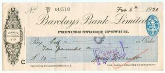 Picture of Princes Street, Ipswich, 19(20), Gurneys, Alexanders & Co., OTG 103.14