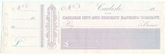 Picture of Carlisle City and District Banking Company, 14 English Street, Carlisle, 18(45)