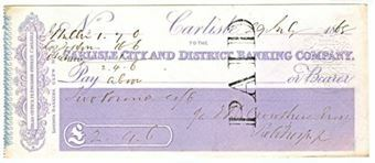Picture of Carlisle City and District Banking Company, 14 English Street, Carlisle, 18(68)