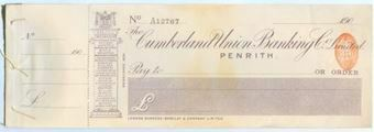 Picture of Cumberland Union Banking Co. Ltd, Penrith, 190(0)