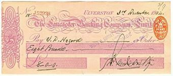 Picture of Lancaster Banking Co. Ltd., Ulverston, 19(04)
