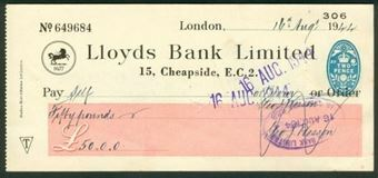 Picture of 15 Cheapside, E.C.2, 19(44), Type 17a