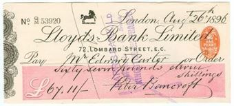 Picture of 72, Lombard Street, E.C., 189(6), Type 4