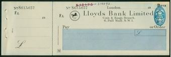 Picture of Cox's & King's Branch, 6 Pall Mall, S.W.1, 19(49), Type 14d