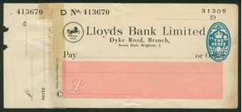 Picture of Dyke Road Branch, Seven Dials, Brighton, 19(46), Type 21a