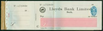 Picture of Lloyds Bank Ltd., Bath, 19(24), type 15a