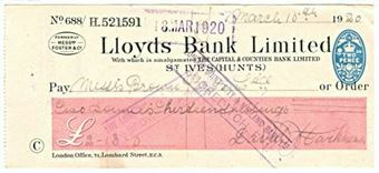 Picture of St. Ives, (Hunts.), 19(20), The Capital & Counties Bank Ltd., Type 10b