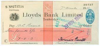 Picture of Tonbridge, 19(38), Old Bank, Type 17c