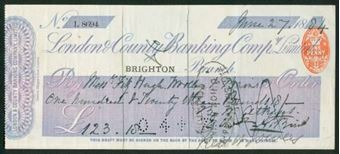 Picture of London & County Banking Co. Ltd, Brighton, 18(84)