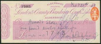 Picture of London & County Banking Co. Ltd., Aldershot, 19(03)