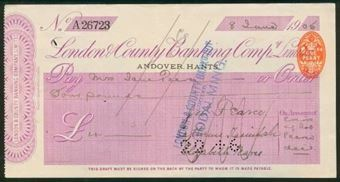 Picture of London & County Banking Co. Ltd., Andover, 19(05)