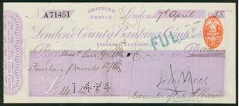 Picture of London & County Banking Co. Ltd., Deptford Branch, 18(85)