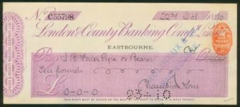 Picture of London & County Banking Co. Ltd., Eastbourne, 18(90)