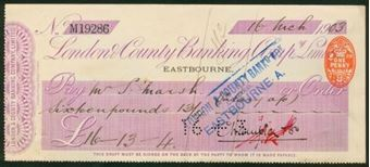 Picture of London & County Banking Co. Ltd., Eastbourne, 19(02)