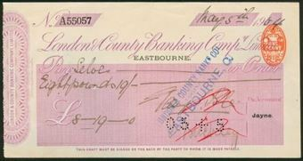 Picture of London & County Banking Co. Ltd., Eastbourne, 19(04)