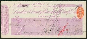 Picture of London & County Banking Co. Ltd., Kensington Branch, 18(1903)