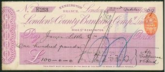 Picture of London & County Banking Co. Ltd., Kensington Branch, 19(09)