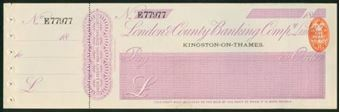 Picture of London & County Banking Co. Ltd., Kingston-on-Thames, 18(91)