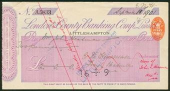 Picture of London & County Banking Co. Ltd., Littlehampton, 18(1903)