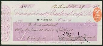 Picture of London & County Banking Co. Ltd., Midhurst, 18(84)