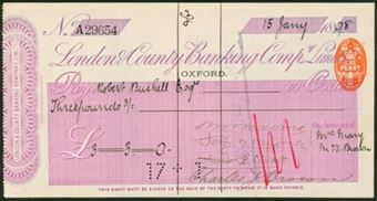 Picture of London & County Banking Co. Ltd., Oxford, 18(98)