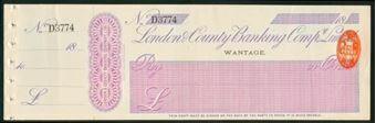 Picture of London & County Banking Co. Ltd., Wantage, 18(97)