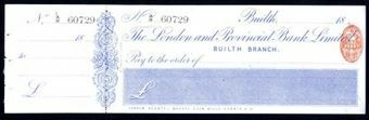 Picture of London & Provincial Bank Ltd., Builth, 18(82)