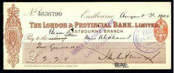 Picture of London & Provincial Bank, Ltd., Eastbourne, (1900)