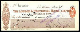 Picture of London & Provincial Bank, Ltd., Eastbourne, 18(1900)