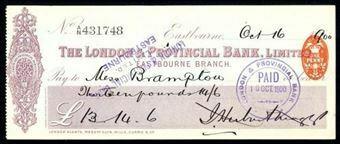 Picture of London & Provincial Bank, Ltd., Eastbourne, 18(1902)