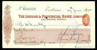Picture of London & Provincial Bank, Ltd., Eastbourne, 18(900)